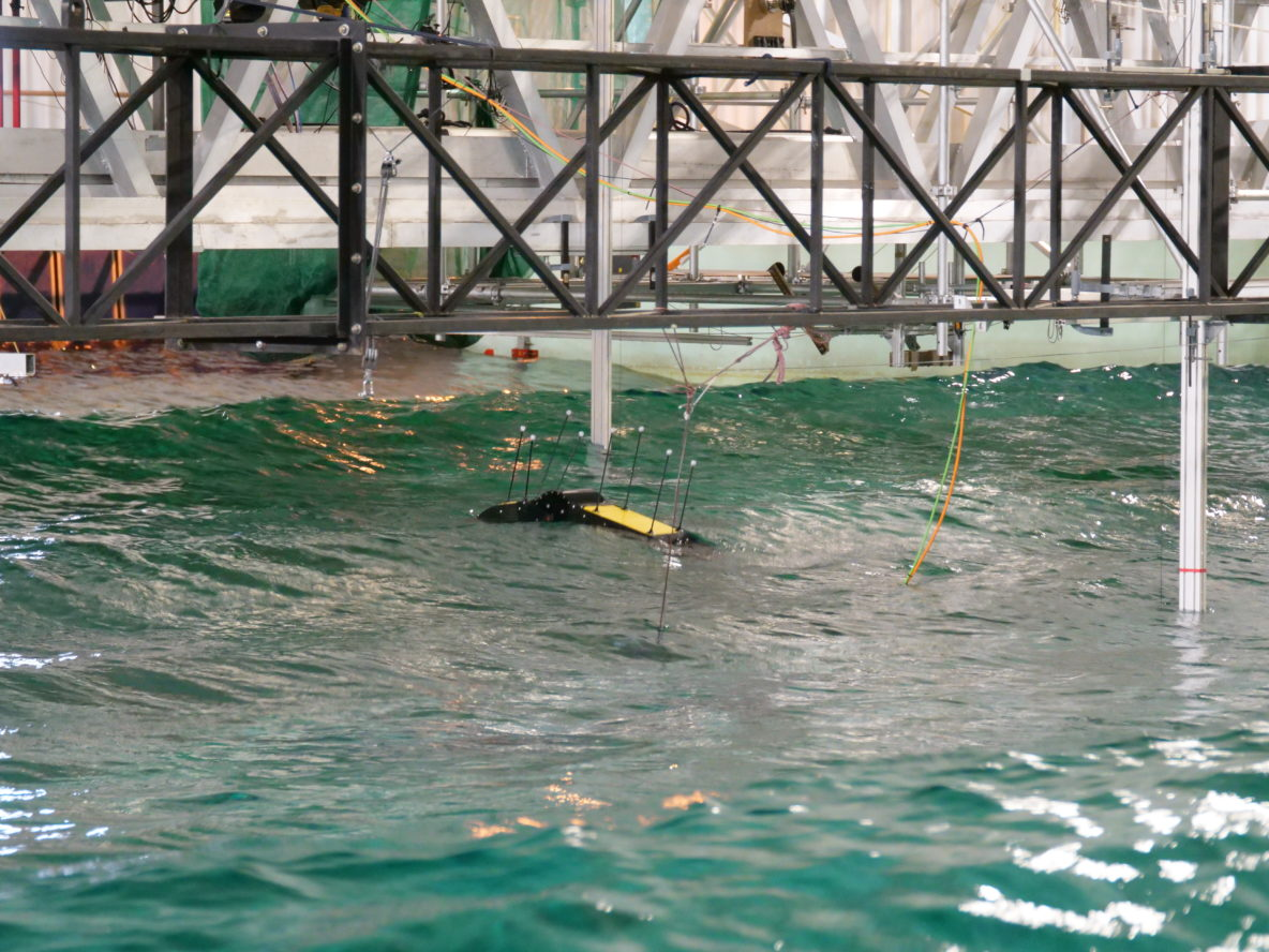 Seabase wave energy technology, testing at Nantes